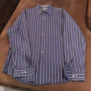 Striped Apt. 9 Long-Sleeved Button Down